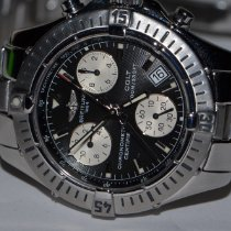 Breitling Colt Chronograph Steel 38mm Black No numerals United States of America, New York, Greenvale
