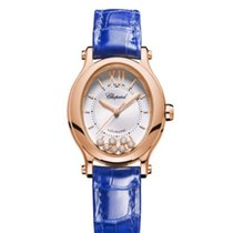 Chopard Or rose 31mm Remontage automatique 275362-5001 nouveau