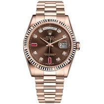 Rolex 118235 Or rose 2019 Day-Date 36 36mm occasion