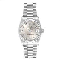 Rolex Or blanc Remontage automatique Argent 31mm occasion Lady-Datejust