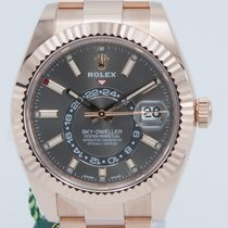 Rolex Sky-Dweller Rose gold 42mm Grey Roman numerals United States of America, Georgia, ATLANTA