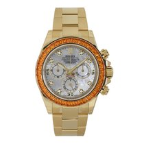 Rolex Daytona Yellow gold 40mm Mother of pearl No numerals United States of America, New York, New York