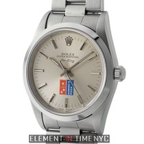 Rolex Air-King Stainless Steel Domino's Silver Dial 34mm Circa...
