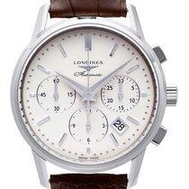 Longines Column-Wheel Chronograph Steel 39,00mm Silver