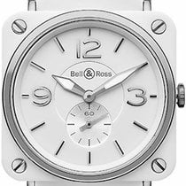 Bell & Ross BR S Ceramic White United States of America, New York, Brooklyn