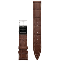 Frederique Constant E-Strap Light Brown Stainless Steel 20mm