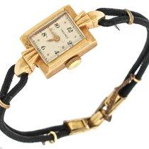 Longines 17 Jewel Solid 14K Yellow Gold Ladies Watch Gemex G.F...