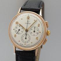 Omega Chronograph vintage 1944 Cal. 27CH/ 321 Roségold 14k