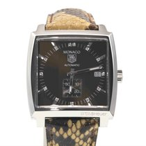 TAG Heuer Monaco Automatic Calibre 6 Diamonds Dial Full Set
