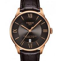 Tissot Rose gold Automatic Bronze Arabic numerals 42mm new Chemin de Tourelles
