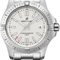 Breitling Chronomat Colt Stahl 41mm Silber