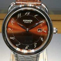 Hermès Arceau GM Brown