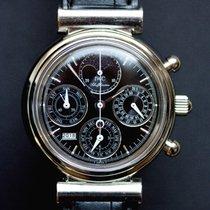 IWC Chronograf 39mm Automatika použité Da Vinci Perpetual Calendar Černá