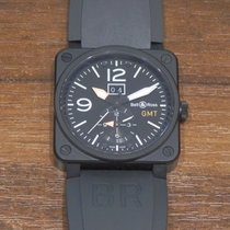 Bell & Ross BR 03-51 GMT pre-owned Rubber