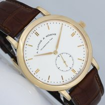 A. Lange & Söhne Saxonia Red gold 37mm Silver (solid)