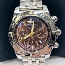 Breitling Chronomat 44 Stainless Steel AB0110 Bronze Dial