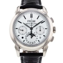 Patek Philippe Perpetual Calendar Chronograph pre-owned 41mm White gold