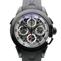Perrelet Skeleton Chrono Steel 43mm Transparent