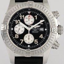 Breitling Super Avenger gebraucht 48mm Chronograph Datum Kautschuk