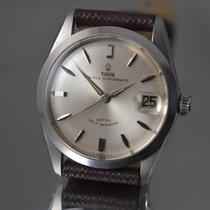 Tudor Prince Oysterdate Steel 34mm Silver No numerals