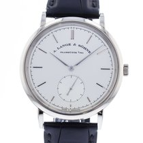 A. Lange & Söhne Saxonia 380.026 Very good White gold 38.5mm Automatic