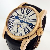 Roger Dubuis Hommage Rose gold 43mm Silver Roman numerals United States of America, California, Los Angeles