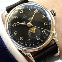 Omega VINTAGE 2486 TRIPLE DATE MOONPHASE DATORA MONDPHASE DAY DATE OVERSIZE JUMBO COSMIC 1946 pre-owned
