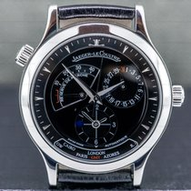 Jaeger-LeCoultre Master Geographic Steel 38mm Black United States of America, Massachusetts, Boston