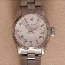 Rolex Oyster Perpetual Lady Date Staal 25mm Wit Romeins Nederland, Amstelveen