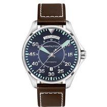 Hamilton Khaki Pilot Day Date H64615545 nouveau