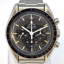 Omega Speedmaster Professional Moonwatch pre-owned Black Chronograph Steel
