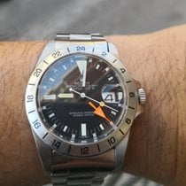 Rolex Explorer II Steel Black No numerals