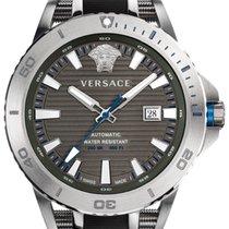 Versace Acél 45mm Automata VERC00118 új