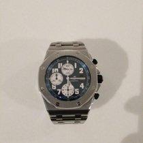 Audemars Piguet Royal Oak Offshore Chronograph Steel Blue Arabic numerals UAE, Dubai