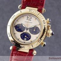 Cartier rabljen Kvarc 38mm Boja šampanjca Safirno staklo