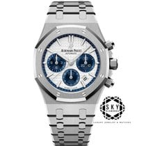 Audemars Piguet Royal Oak Chronograph Stål 38mm Silver