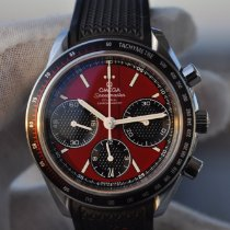 Omega Speedmaster Racing Steel 40mm Red No numerals United States of America, Louisiana, New Orleans