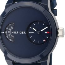 Tommy Hilfiger Plastic Quartz Blue 44mm new