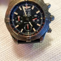 Breitling Steel Automatic Black pre-owned Blackbird