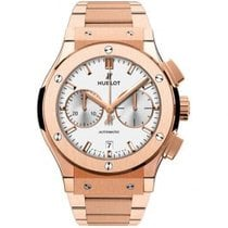 Hublot Classic Fusion Chronograph Roségold 45mm Silber