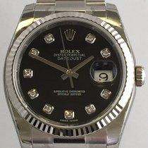 Rolex Datejust 36mm Ref.116234 Schwarzes Diamanten ZB.