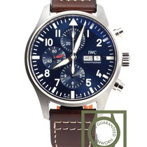 IWC Pilot watch chronograph edition Petit Prince blue dial NEW