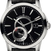 Maurice Lacroix new Automatic Display Back Center Seconds Power Reserve Display 40mm Steel Sapphire Glass