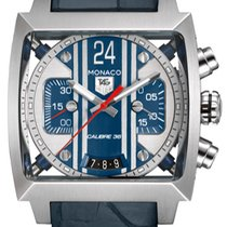 TAG Heuer Monaco Calibre 36 Steel Blue United States of America, New York, Brooklyn
