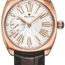 Zenith Star Rose gold 33mm Silver United States of America, New York, Airmont