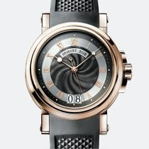 Breguet Marine Automatic Rose Gold Case 18K  Black Rubber T