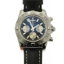 Breitling Chronomat 44 Stahl 44mm Schwarz Keine Ziffern