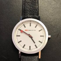Mondaine Official Swiss Railways SBB CFF FFS white/black/steel...