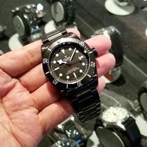Tudor 79230DK Black Steel Bracelet Heritage Black Bay Dark 41mm