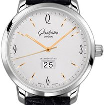 Glashütte Original Sixties Panorama Date Steel 42mm Silver Arabic numerals United States of America, California, Mission Viejo